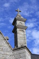 Chapelle de Saint-Gobrien - Chapelle Saint-Gobrien de Saint-Servant: pinacle sud-est