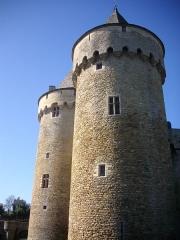 Ruines du château de Suscinio - Tours, angle Nord-Est du château de Suscinio, Sarzeau (Morbihan, France)