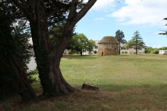Ruines du château de Suscinio - Le pigeonnier est situé à quelques dizaines de mètres au sud du château de Suscinio.
