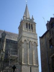 Cathédrale Saint-Pierre - Cathédrale Saint-Pierre de Vannes (Morbihan, France), tour nord