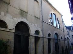 Ancienne cohue - Français:   La Cohue, musée des beaux-arts de Vannes (Morbihan, France), côté rue des Halles