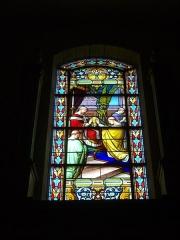 Eglise Saint-Patern - Vitrail de l'église Saint-Patern de Vannes (Morbihan, France)