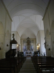 Eglise Saint-Patern - Français:   Église Saint-Patern de Vannes (Morbihan, France): nef