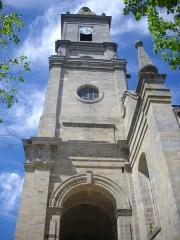 Eglise Saint-Patern - Français:   Église Saint-Patern de Vannes (Morbihan, France), tour-porche