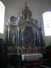 Eglise Saint-Patern - Église Saint-Patern de Vannes (Morbihan, France): autel secondaire
