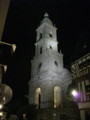 Eglise Saint-Patern - Église Saint-Patern de Vannes (Morbihan, France) de nuit