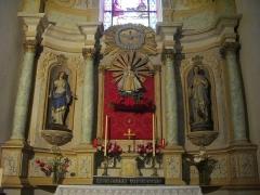 Eglise Saint-Patern - Français:   Église Saint-Patern de Vannes (Morbihan, France): autel