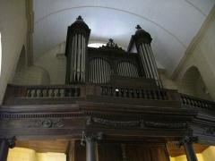 Eglise Saint-Patern - Français:   Église Saint-Patern de Vannes (Morbihan, France): orgue