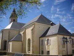 Eglise Saint-Patern - Français:   Église Saint-Patern de Vannes (Morbihan, France), chevet