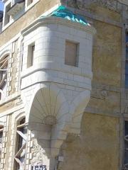 Ancien hôtel de Francheville - Français:   Hôtel de Francheville en rénovation, à Vannes (Morbihan, France)
