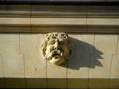Hôtel de Limur - Français:   Hôtel de Limur à Vannes (56). Mascaron du 1er étage.