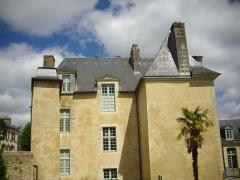 Hôtel de Limur - Hôtel de Limur, Vannes (Morbihan, France), depuis le jardin