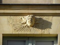 Hôtel de Limur - Hôtel de Limur à Vannes (56). Mascaron du 1er étage.