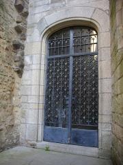 Ancien hôtel du Parlement de Bretagne, dit Château-Gaillard - Français:   Château-Gaillard, musée d\'histoire et d\'archéologie de Vannes (Morbihan, France), porte