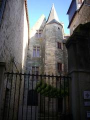 Ancien hôtel du Parlement de Bretagne, dit Château-Gaillard - Français:   Château-Gaillard, musée d\'histoire et d\'archéologie de Vannes (Morbihan, France)