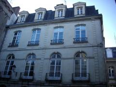 Hôtel Saint-Georges - Français:   Hôtel Saint-Georges à Vannes (Morbihan, France), façade rue des Orfèvres