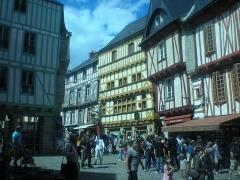 Maison - Français:   Maison de Vannes