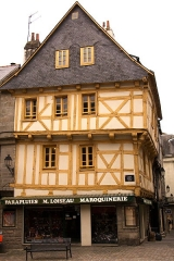 Maison - Français:   Maison, 5 place Henri-IV à Vannes, dans le Morbihan (France)