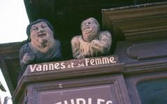 Maison dite de Vannes et sa femme - Français:   Vannes et sa femme - Vannes - Morbihan