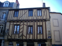 Maison dite de Saint-Vincent - Français:   Maison de Saint-Vincent à Vannes (Morbihan, France)