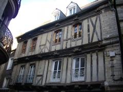 Maison - Français:   Maison au n°10 rue Saint-Salomon à Vannes (Morbihan, France)