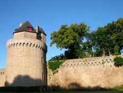 Anciens remparts - Remparts de Vannes, Tour du Connétable, Vannes, Pays de Vannes, Bretagne