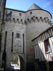 Anciens remparts - Porte Prison, remparts de Vannes (Morbihan, France)