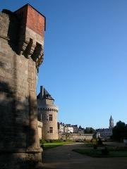 Anciens remparts - Remparts de Vannes, Éperon de la Garenne, Vannes, Pays de Vannes, Bretagne