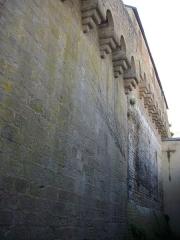 Anciens remparts - Remparts de Vannes (Morbihan, France), à l'ouest de la porte Saint-Jean