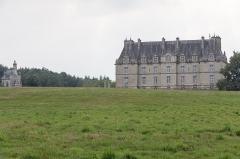 Château de la Grée de Callac (également sur commune d'Augan) - Français:   Château de la Grée de Callac: le logis et la chapelle.