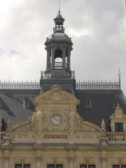 Hôtel de ville - Hôtel de ville de Vannes (Morbihan, France), clocheton