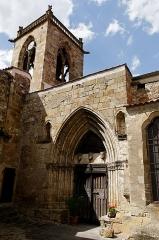 Eglise Notre-Dame - English:   Church Our Lady of Authezat (14th century), Puy-de-Dôme, Auvergne, France.