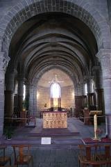 Eglise Saint-André - Français:   Choeur de l\'église Saint André de Besse-et-Saint-Anastaise