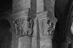 Eglise Saint-André - Français:   Église Saint-André de Besse-et-Saint-Anastaise: chapiteau des Centaures.