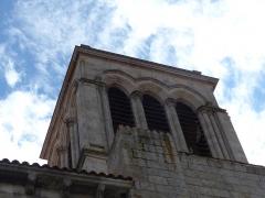 Eglise Saint-Cerneuf - Français:   Clocher de l\'église Saint-Cerneuf de Billom (63).