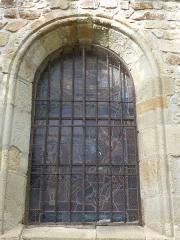 Eglise Saint-Cerneuf - Français:   2ème fenêtre du collatéral sud de l\'église Saint-Cerneuf de Billom (63).