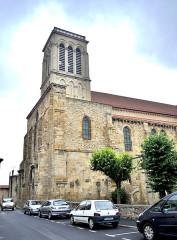Eglise Saint-Cerneuf - Français:   Eglise Saint Cerneuf. Billom. Puy-de-Dôme