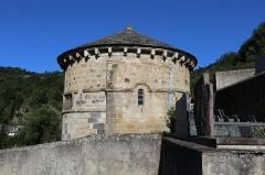Monument sépulcral - Français:   Chapelle funéraire de Chambon-sur-Lac.