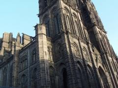 Cathédrale Notre-Dame - Cathédrale Notre-Dame-de-l'Assomption de Clermont-Ferrand (Puy-de-Dôme, France)