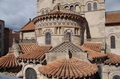 Eglise Notre-Dame-du-Port - Chevet de la Basilique Notre-Dame-du-Port