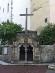 Eglise Notre-Dame-du-Port - English: Basilique Notre-Dame du Port in Clermont-Ferrand.