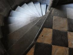 Hôtel Fontfreyde (musée du Ranquet) - Escalier intérieur de l'hôtel de Fontfreyde à Clermont-Ferrand
