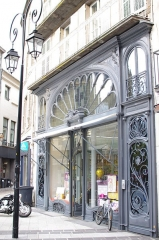 Pharmacie - This building is indexed in the Base Mérimée, a database of architectural heritage maintained by the French Ministry of Culture,under the reference PA00092038 .