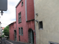 Ancienne commanderie du Temple, à Montferrand -  Ancienne commanderie du Temple, 2-4 rue Parmentier à Clermont-Ferrand