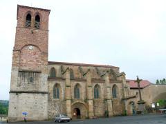 Ancien sanctuaire de Saint-Genes - Français:   Manglieu - Abbatiale Saint-Sébastien
