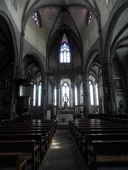 Eglise Saint-Victor-et-Sainte-Couronne - Français:   Chœur de la collégiale Saint-Victor et Sainte-Couronne d\'Ennezat (63).