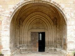 Eglise Saint-Nicolas -  Nonette - Eglise Saint-Nicolas - Porche d'entrée