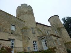 Château - English: Château de Ravel, Ravel, France. Historical monument. East wing.