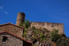 Immeuble dit château de Saint-Floret ou Vieux Château - Français:   Château de Saint Floret