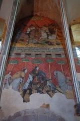 Immeuble dit château de Saint-Floret ou Vieux Château - Français:   Saint-Floret, comm. du Puy-de-Dôme (Auvergne, France). Peinture murale (XIVe siècle) dans une des salles du logis seigneurial du château.